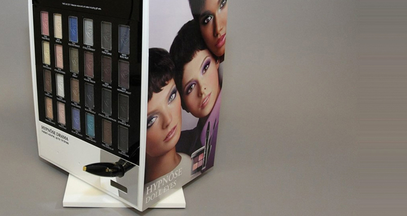 Custom made cosmetics displays